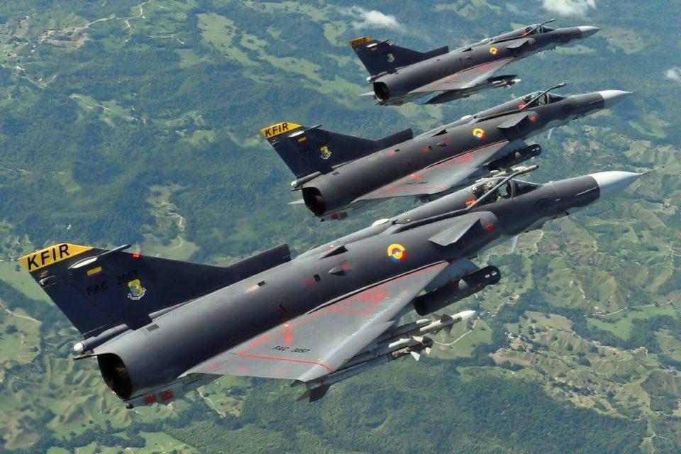 Asi expulsó Colombia al avión ruso que violó su espacio aéreo