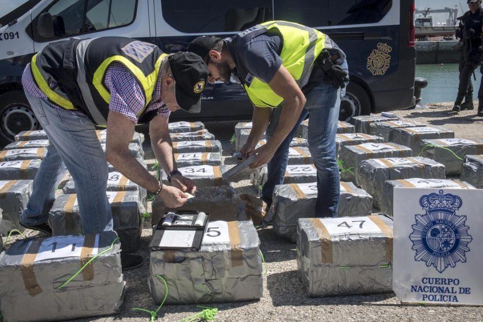 24% de la cocaína del mundo