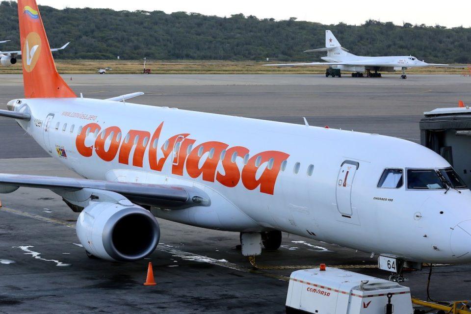 los precios en dólares de los nuevos vuelos de Conviasa