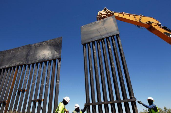 Por qué ahora Biden dice que va terminar de construir el muro que inició Donald Trump