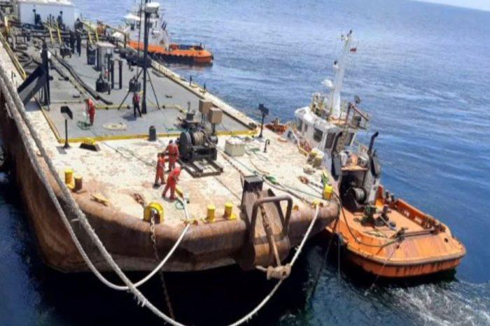 Finalmente PDVSA completa descarga del crudo que peligraba dentro del carguero Nabarima