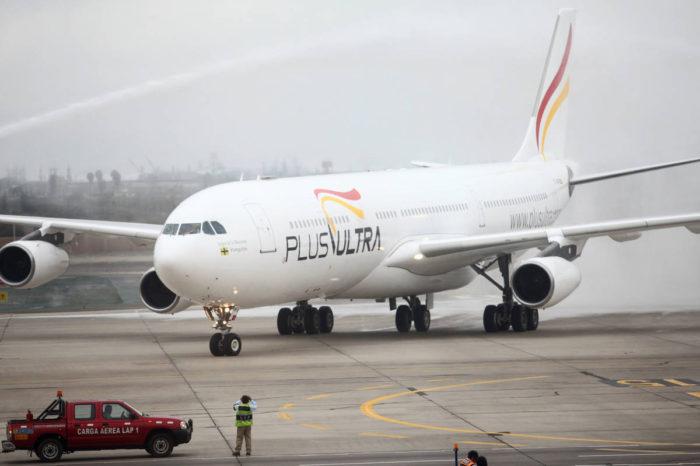Polémica aerolínea Plus Ultra reactiva otro destino entre España y Venezuela