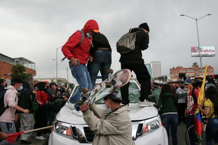 Denuncian que el régimen de Maduro interviene en las protestas de Colombia