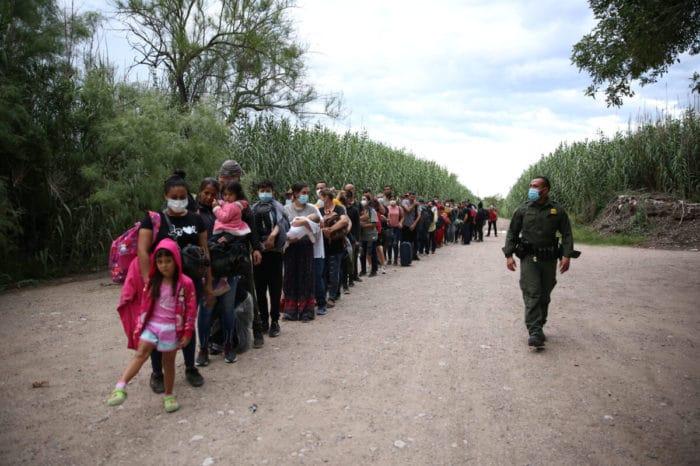 Así es el brutal aumento de los venezolanos que cruzan a EEUU por la frontera de Texas