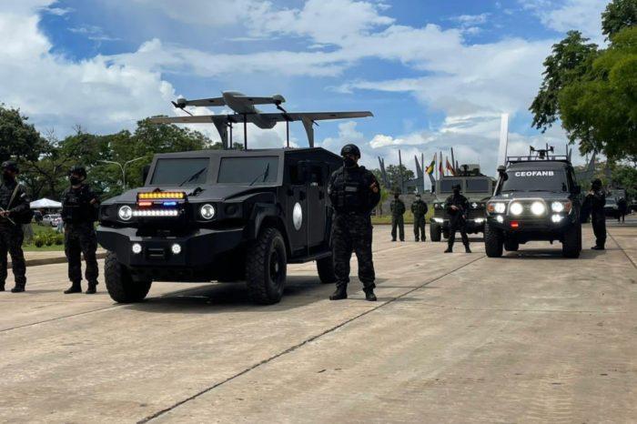 El falso dron de ataque que mostró el chavismo en un desfile militar