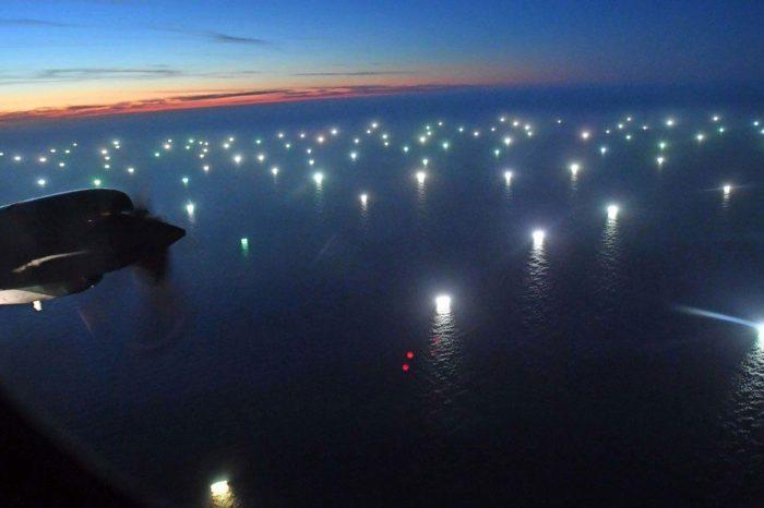 Informe: La flota pesquera pirata de China invade aguas argentinas