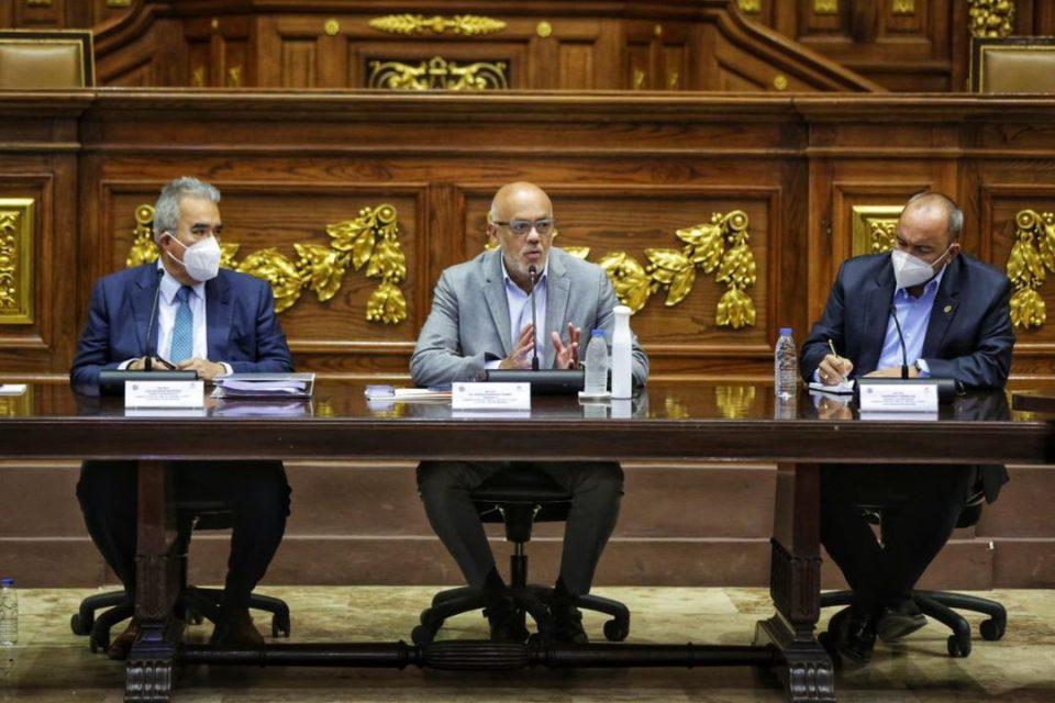 Jorge Rodríguez pone nuevas condiciones para impedir un diálogo