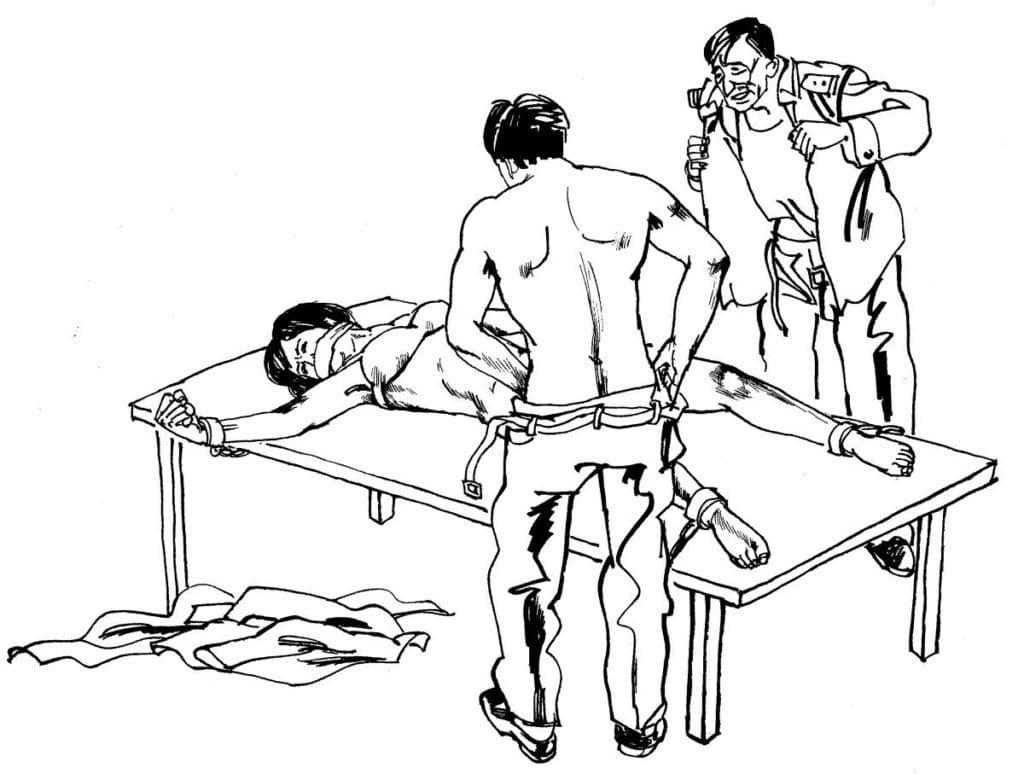 métodos de tortura china - 4-1- primer informe